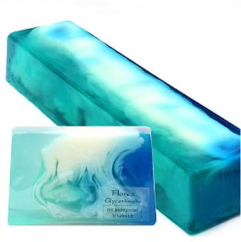 Blue Diamond - handgemachte Seife mit Schafmilch